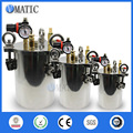 Free Shipping 304 Material 1L Stainless Steel Glue Dispensing Air Pressure Tank Pressure Barrel for Storage
