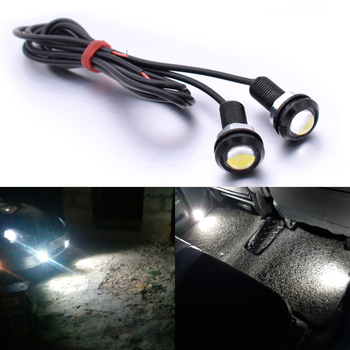For Suzuki GSXS750 RM85 RM125 RM250 drz 400 sm Eagle Eye LED Car Screw Light Daytime Running Lights DRL Car Parking Signal Lamp image