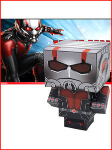 Cubee Figure Paper-Model Craft Spider-Man Toys Cutting DIY Anime 3D Marvel Cute No