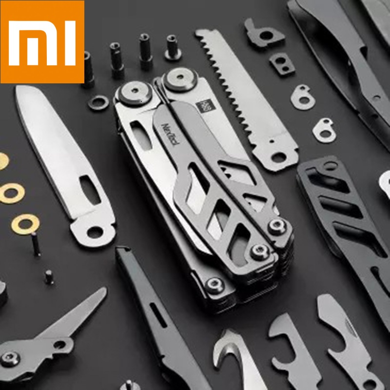 Xiaomi Huohou Multi-function Folding Knife Bottle Opener Stainless Steel Army Knives Hunting Outdoor Camping