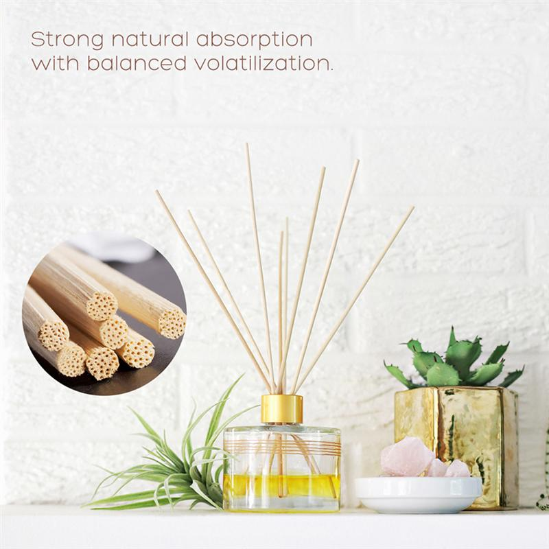 30pcs Rattan Reed Diffuser Replacement Stick Incense Refill Rattan Sticks Aromatic Sticks For Fragrance For Home Wedding Party