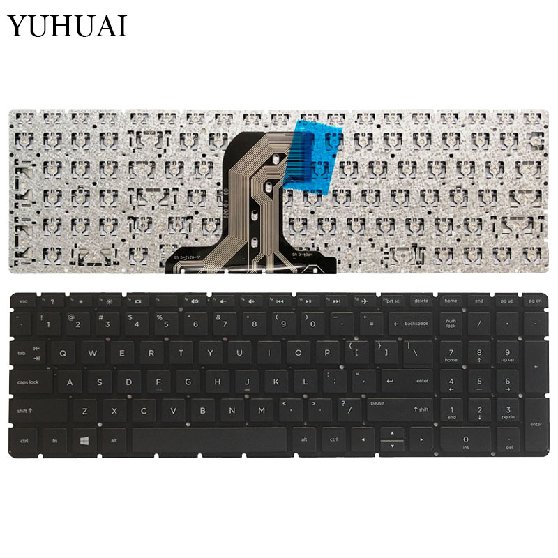 New US Laptop Keyboard For HP TPN-C126 TPN-C125 HQ-TRE No Frame English Keyboard