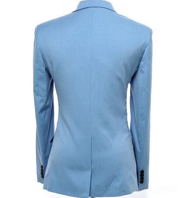 Light-Bule-Man-Suits-Notch-Lapel-One-Button-2-Pieces-Fashion-Terno-Masculino-Personal-Custome-Made (1)