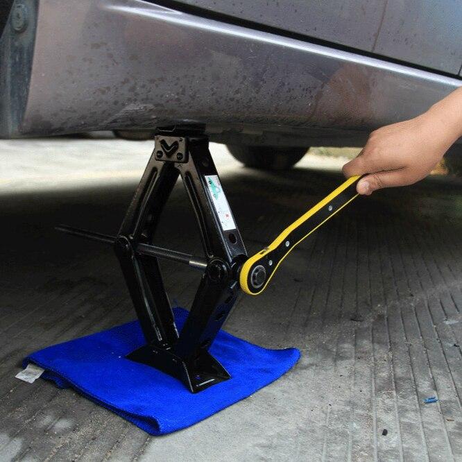 Changement de pneu de clé sans fil hexagonale de cric de voiture de 2 tonnes
