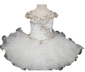 Image 1 - Новинка, рождественское платье для первого причастия, платье для младенцев, платье для детского карнавала, платье для папы и танцев, платье с цветами для девочек на Хэллоуин