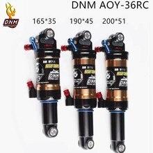 DNM AOY-36, катушка для горного спуска, задний амортизатор, 165 мм, 190 мм, 200 мм, детали подвески для велосипеда, двойной воздушный Задний амортизатор с блокировкой