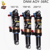DNM AOY 36 Mountain Downhill Bike Coil Rear Shock 165mm 190mm 200mm Bicycle Suspension Parts Double air Rear Shock With Lockout