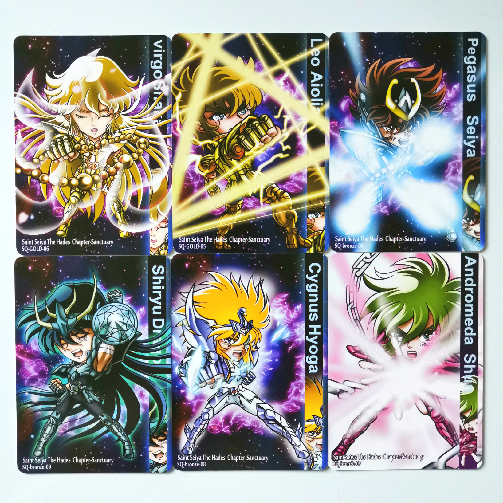 46pcs/set Saint Seiya Toys Hobbies Hobby Collectibles Game Collection Anime Cards