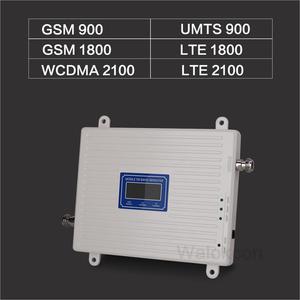 Image 2 - 흰색 900/1800/2100 셀룰러 증폭기 2G GSM 3G WCDMA 4G DCS 900 1800 2100 MHz 신호 리피터 4G LTE 부스터 (LCD 디스플레이 포함)