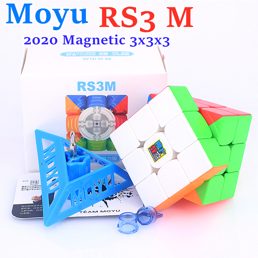 Puzzle Cube Magnet 3x3 3x3x3 Moyu Mfrs3m Rs3-M Cubo