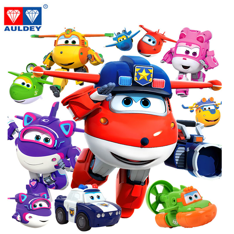 New Toy 17 Small Super Wings Deformation Mini Jett Robot Wing  Action Figures Super Wing Transformation Toys For Children Gift