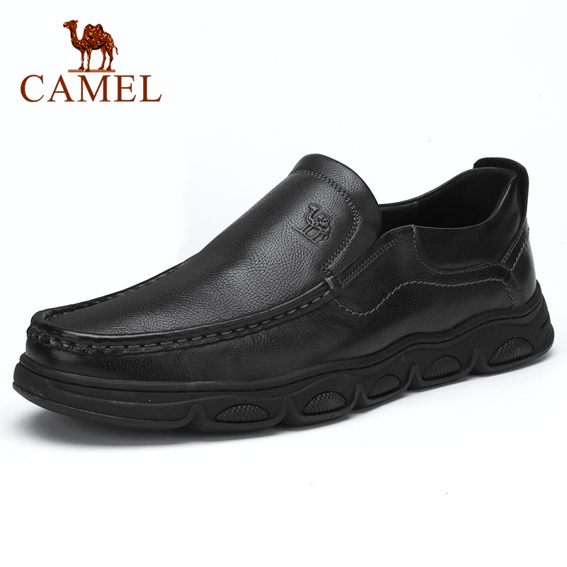CAEML Men's Shoes New Men's Casual Genuine Leather Cowhide Sets Business Shoes Soft Comfortable Light Cushioning Footwear Men