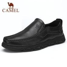 Zapatos de hombre CAEML, nuevos conjuntos informales de piel auténtica de vaca para hombre, zapatos de negocios, cómodos y suaves, calzado acolchado ligero para hombre
