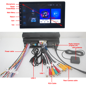 Image 5 - Android 9.0 2 din car radio car stereo For universal  car dvd player autoradio car audio 2G+32G 4G internet wifi автомагнитола