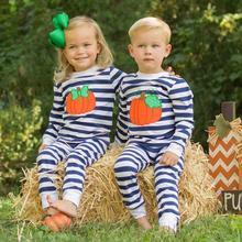 Комплект для малышей; Осенняя футболка с длинными рукавами и