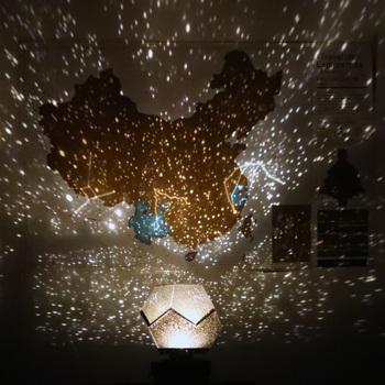 strong Import List strong Galaxy projektor lampa główna planetarium led gwiaździste niebo światła dekoracja stołu sypialnia zasilany baterią konstelacji DIY usb prezent tanie i dobre opinie CISTWIN Piłka CN (pochodzenie) 41521 Noc światła NONE Żarówki led Przełącznik 12 v HOLIDAY 0-5 w