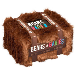 Медведи против младенцев настольная игра родитель-ребенок Взаимодействие карты базовый NSFW расширительный пакет детская игра, развивающие ...