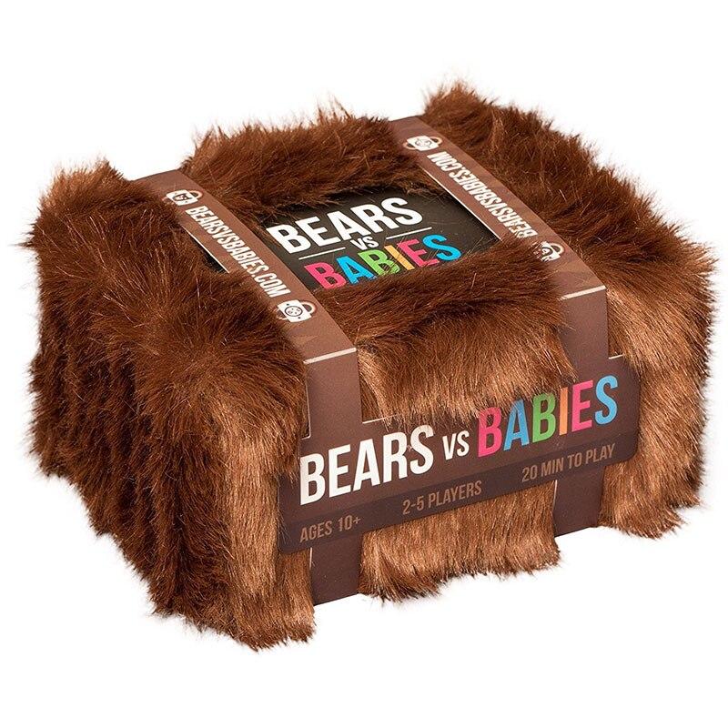 US $5.79 5% СКИДКА|Медведи против младенцев настольная игра родитель ребенок Взаимодействие карты базовый NSFW расширительный пакет детская игра, развивающие игрушки|Карточные игры| |  - AliExpress