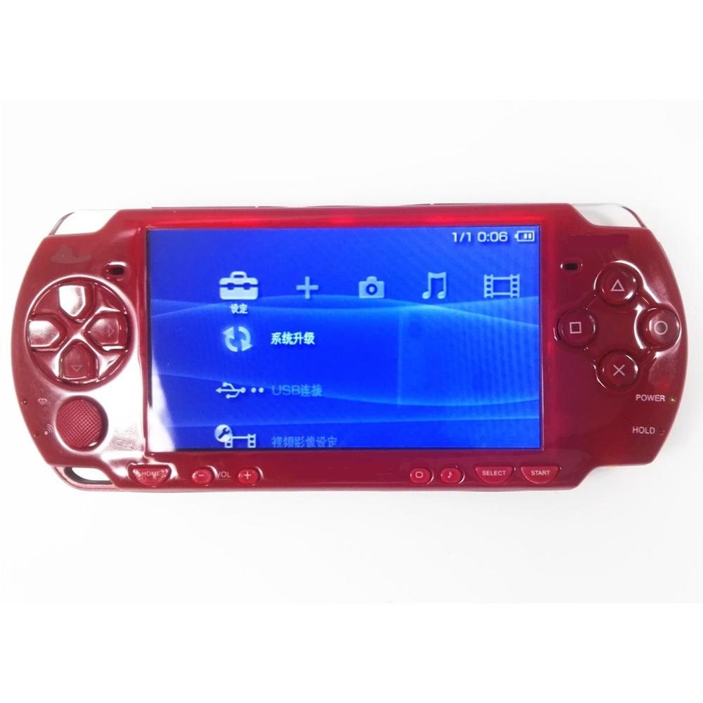 Профессиональная Отремонтированная игровая консоль Sony PSP 2000 PSP 2000, красная консоль|Запасные части|   | АлиЭкспресс