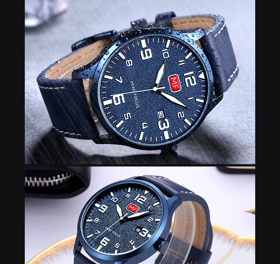 H84a86b171556475b802d97748ed07ed18 MINI FOCUS Luxury Brand Men's Wristwatch Quartz Wrist Watch Men Waterproof Brown Leather Strap Fashion Watches Relogio Masculino