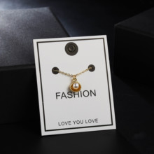 2020 Bohemian Small Pearl Pendant Choker Necklace for Women Wedding Collar Gold Color Clavicle Chain Necklace Jewelry Party Gift 2020 new highlight pearl pendant choker necklace for women luxury crystal multi layer clavicle chain statement party jewelry