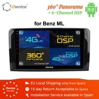 Ownice K3 K5 K6 1 Din Android 9.0 Car DVD Player For Mercedes Benz ML W164 W300 ML350 ML450 ML500 GL X164 G320 GL350 GL450 GL500
