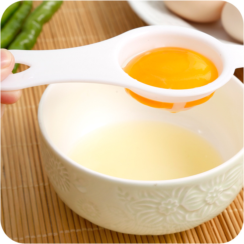 Much money Environmental protection Plastic Egg Separator White Yolk Sifting Home Kitchen Chef Dining Cooking Gadget New in Egg Dividers from Home Garden