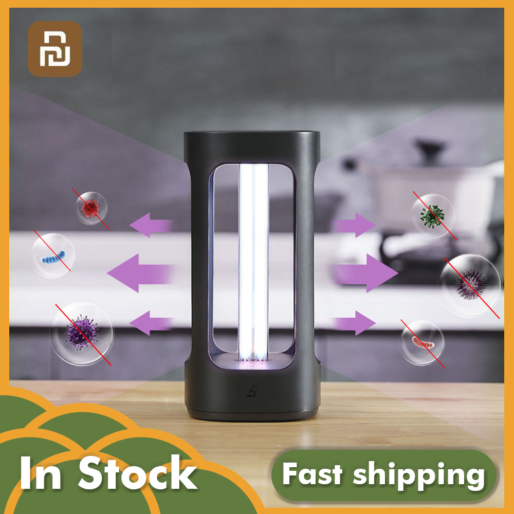 Xiaomi Five UVC Intelligent Disinfection Sterilization Lamp Mijia APP Control Human Body Sensor Safe Smart Home Sterilizer Lamp