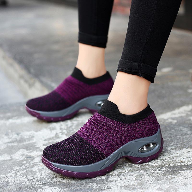 Big Size Platform Sock Trainers Women