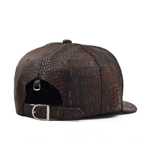 Image 5 - 2020 New Summer Baseball Cap PU Caps Snapback Summer Hip Hop Fitted Cap Hats For Men Women Gorras Mujer Chapeau H07