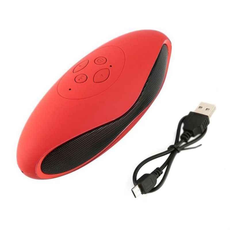 X6U. Rugby X6 haut-parleur Bluetooth Mini Plug In carte haut-parleur Bluetooth sans fil USB Super basse colonne système acoustique haut-parleur