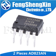 2pcs/lot AD823ANZ AD823 AD823AN Amplifier IC DIP 8