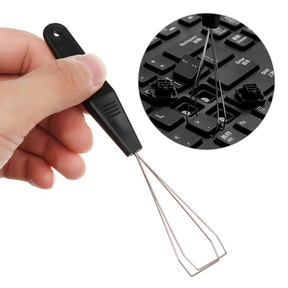 1PC Useful Keyboard Key Keycap Puller Remover With Unloading Steel Cleaning Tool Keycap Starter Keyboard Dust Cleaner Aid 1