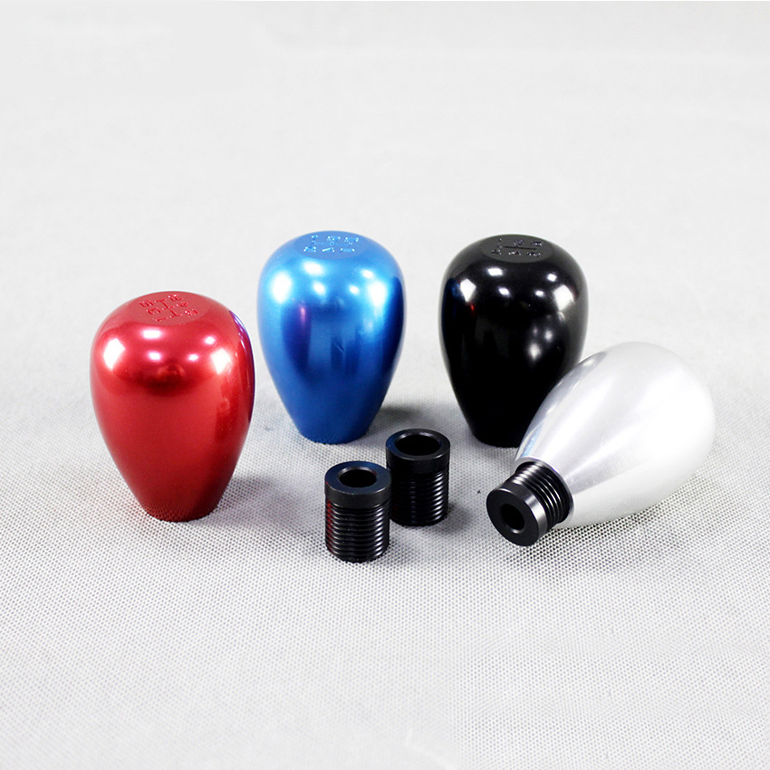 Car Gear Shifter Modified Five-speed Car Shifting Ball Color Aluminum Alloy Universal Gearshift Lever