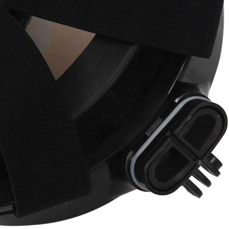 Máscara de mergulho subaquática para gopro compatível