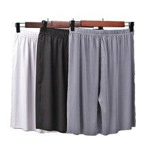 Лето большие размеры мужские% 27 шорты модальные повседневные домашние брюки тонкие секционные большие размер свободные шорты пижамы мужские пижамы брюки
