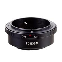 FD-EOS Camera Lens Manual Focus Adapter Ring for Canon FD to EOS
