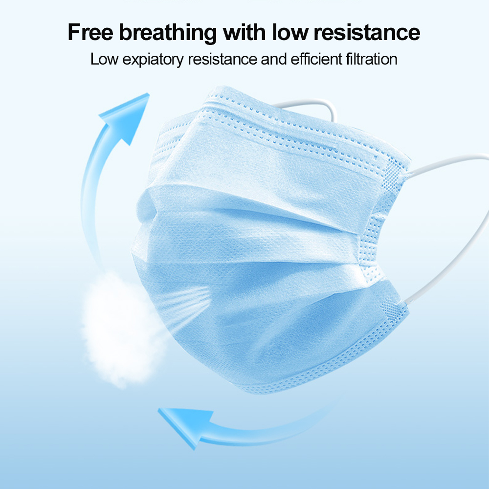 50Pcs-100pcs-Mask-Disposable-Nonwove-3-Layer-Ply-Filter-Mask-mouth-Face-mask-filter-safe-Breathable (2)