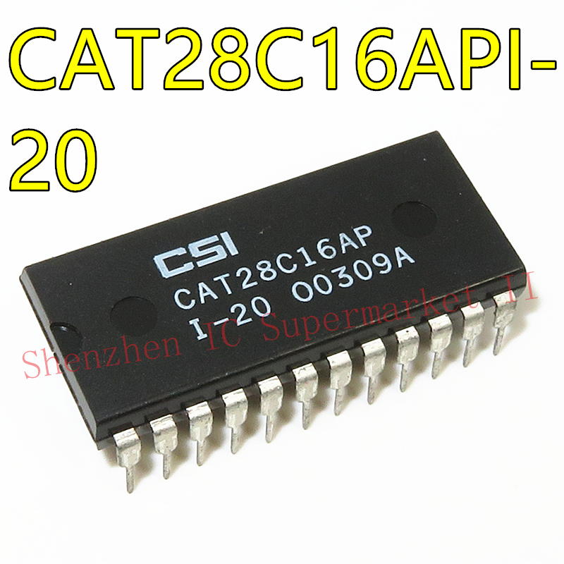 1pcs/lot CAT28C16API-20 CAT28C16API KM28C16 28C16 DIP New Original IC In Stock