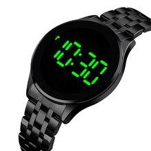 Stainless Steel Electronic Wristwatch Outdoor Waterproof Digital Watch