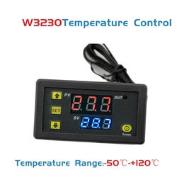 New W3230 DC 12V 20A Digital Temperature Controller -50-120 Degree Thermostat Regulator Indicating Instrument
