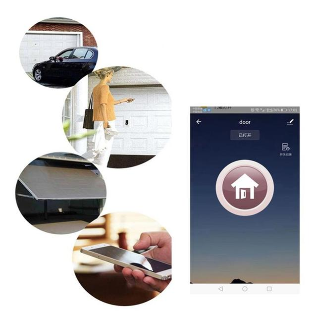 Wifi Smart Switch Garage Door Controller Mobile Wireless Remote Control Garage Door Switch Garage Door Switch Controller