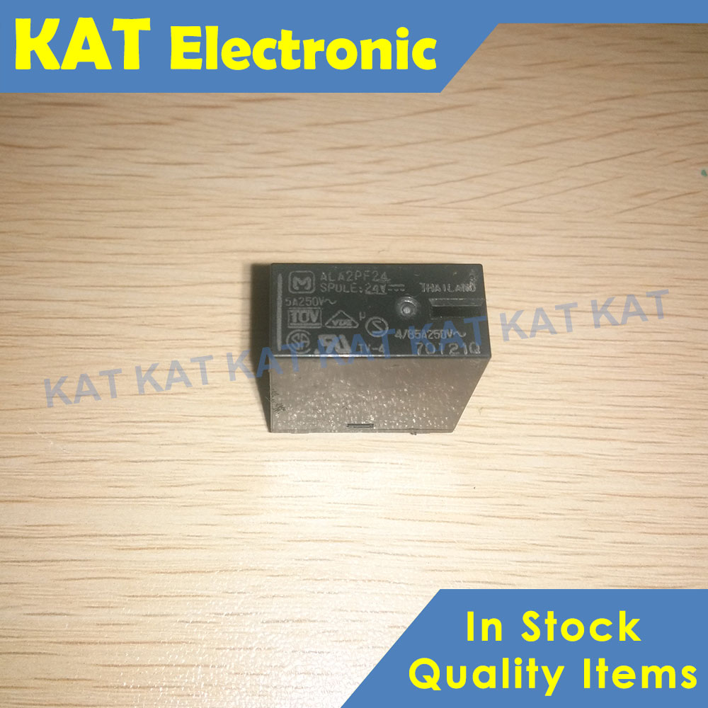 ALA2PF24 24VDC 2a 3A/5A Power Relays New Original