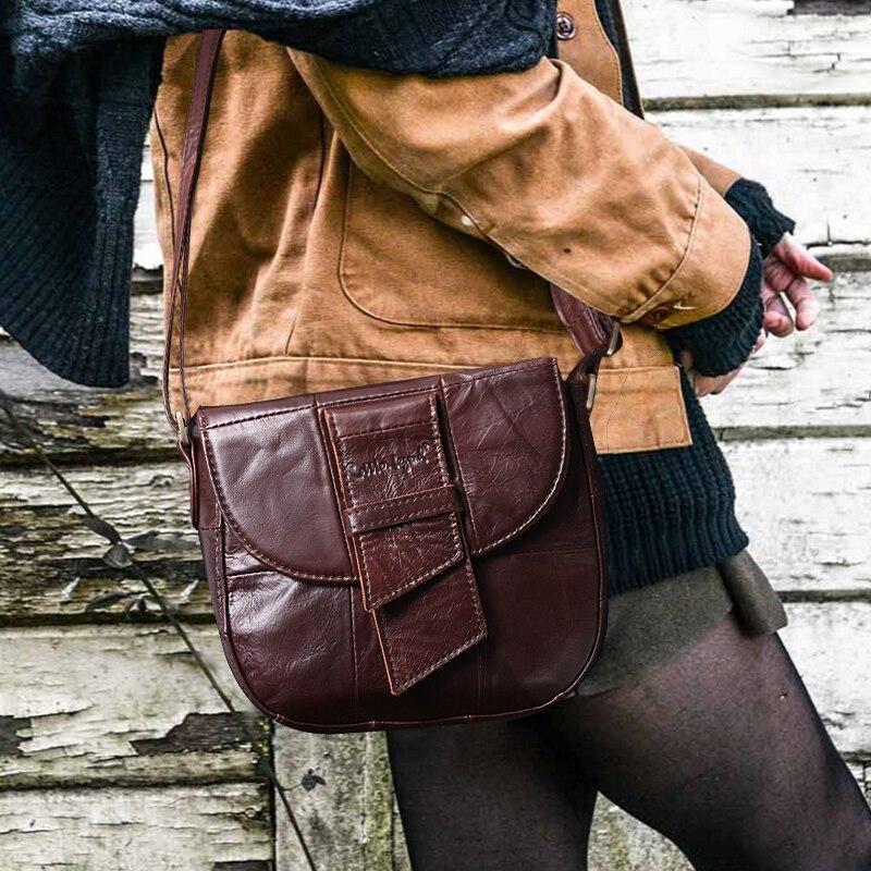Image 4 - Cobbler 전설 저렴한 여성 가방 핸드백 여성 정품 가죽 디자이너 가방 여성 유명 브랜드 2019 호보 가방 여성용-에서숄더 백부터 수화물 & 가방 의