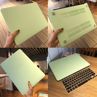 Solid Hard Shell Cover For MacBook Air 11 13 Inch A1932 2019 Pro Retina 13 15 Touch Bar A2159 Laptop Case Keyboard Cover