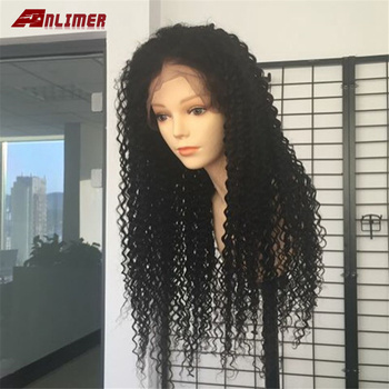 Anlimer Lace Front Human Hair Wigs For Black Women Curly Human Hair Wig Brazilian Remy Hair Wig Preplucked
