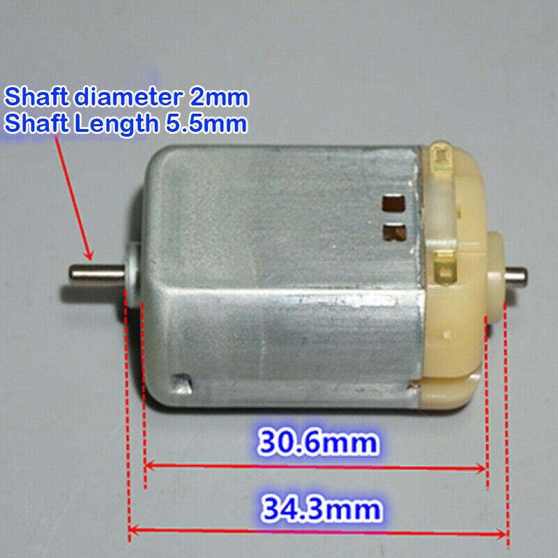 Mabuchi RF280-2865 DC 3V 6V 12V 16000RPM Mini Carbon Brush Motor Strong Magnetic