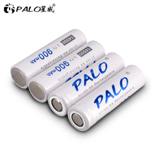 PALO 3.7V LI-ION bateria 14500 li-ion Original 900mah 14500 rechargeable battery Lithium battery for camera Flashlight radio toy ultrafire lc 14500 rechargeable 900mah 3 6v li ion battery blue