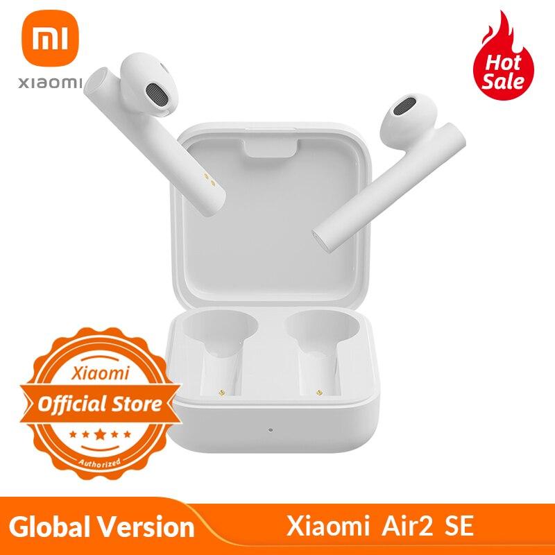 Глобальная версия Xiaomi Air2 SE Mi True беспроводные наушники 2 Basic SBC/AAC Mi True Bluetooth наушники 20h с длительным режимом ожидания с коробкой