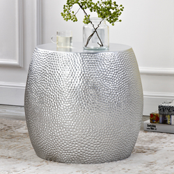 Modern style sidetable living room sofa table silver bedside tables leisure small tables home furniture w Stoliki kawowe od Meble na